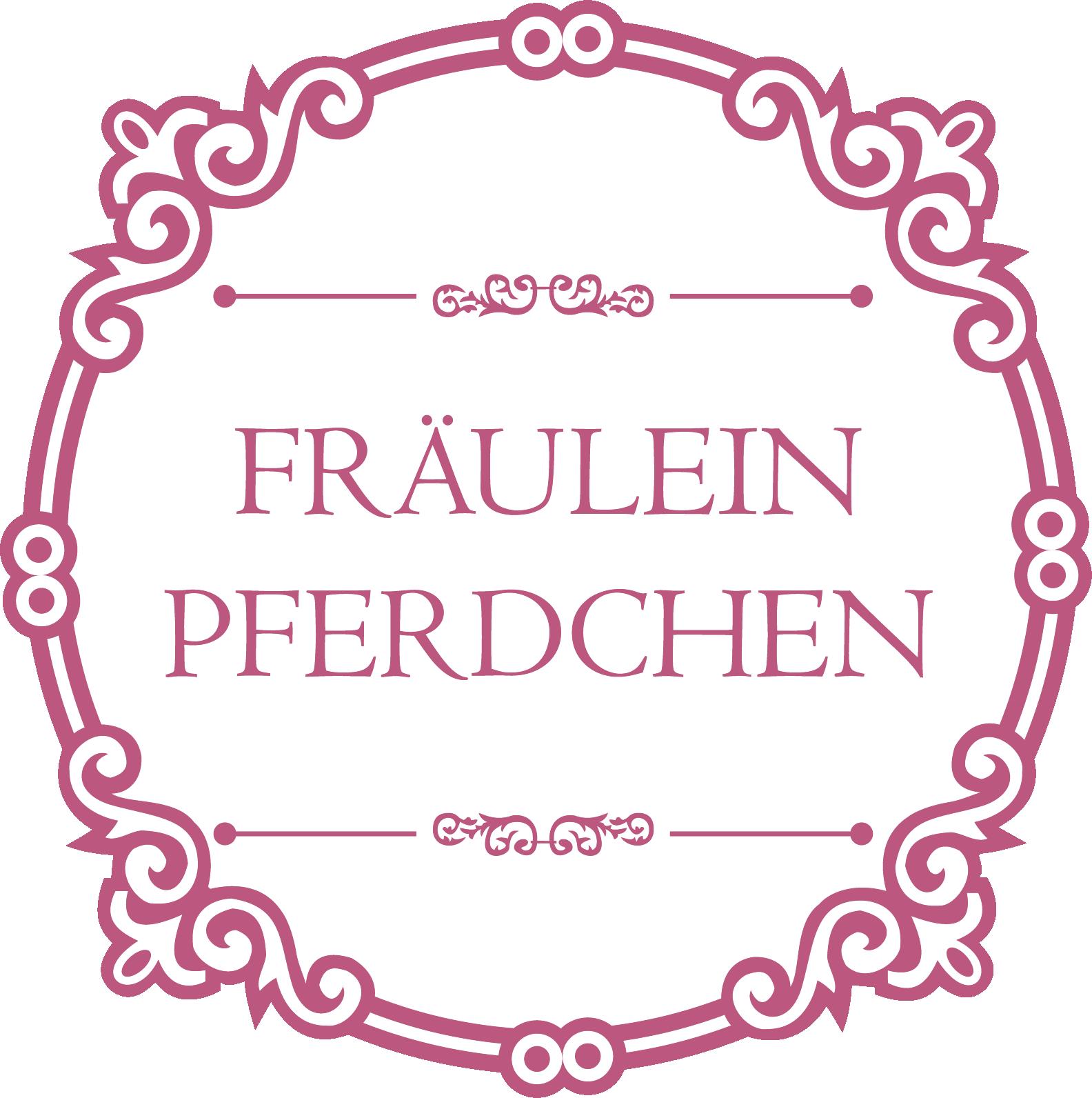 2019-09-07_Logo rund_Fraeulein Pferdchen_rose