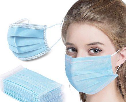 Gesichtsmaske 3ply 20 Stück