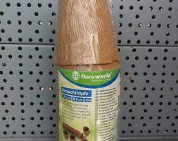Floraworld Anzuchttöpfe rund 8cm 16 St.