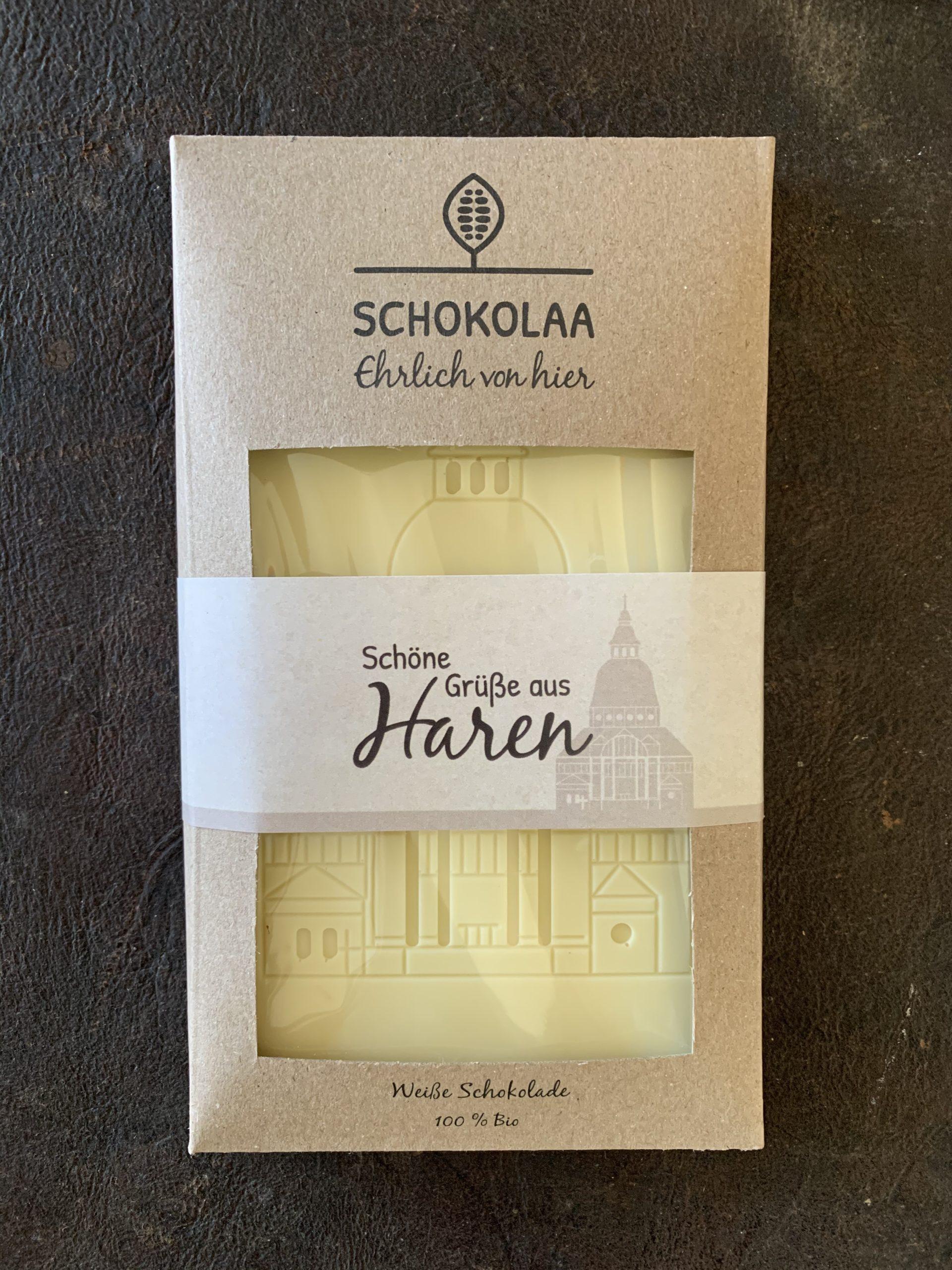 Haren – Weiße Bio Schokolade