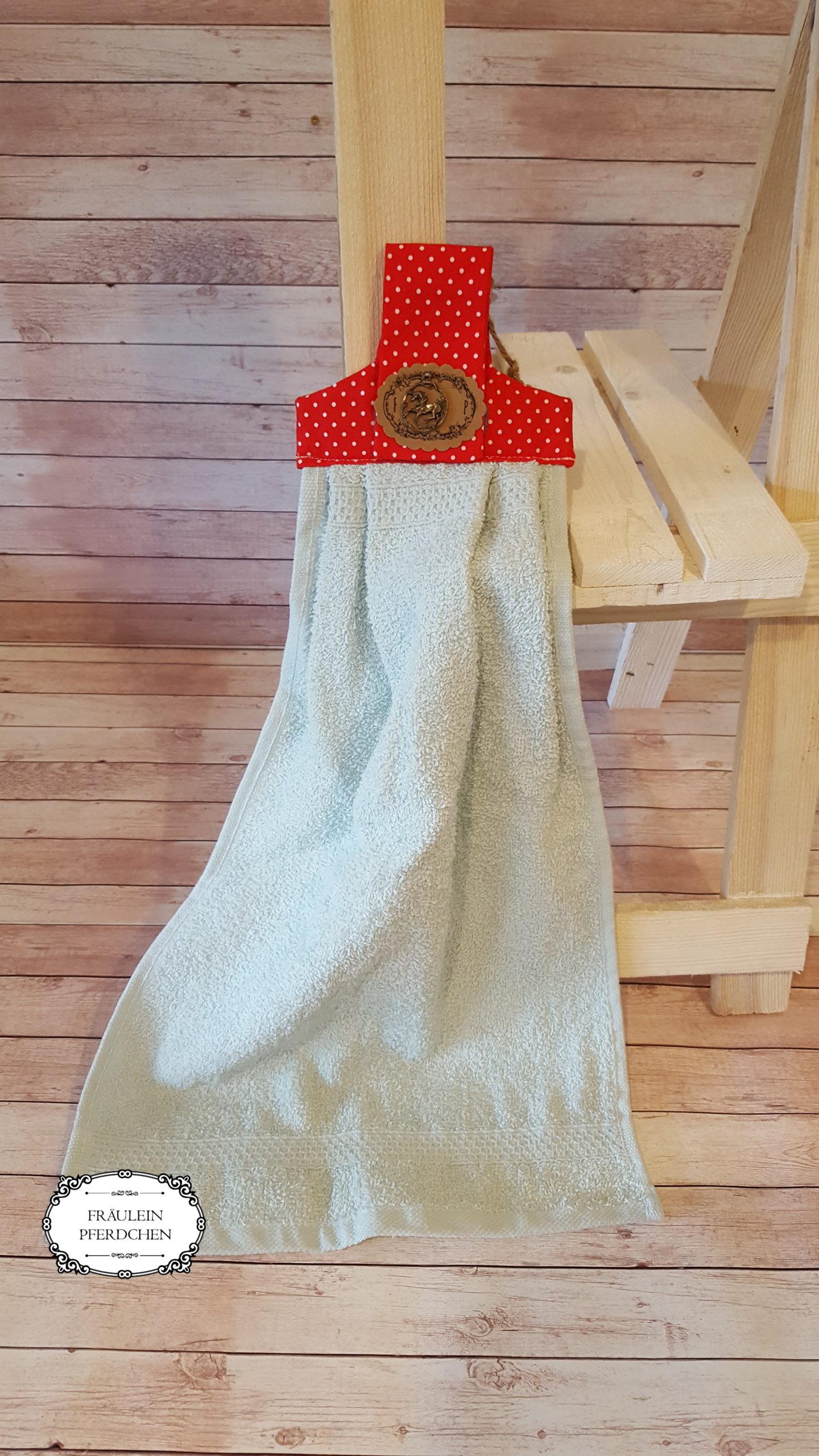 Handtuch zum Befestigen – mit Liebe handgemacht