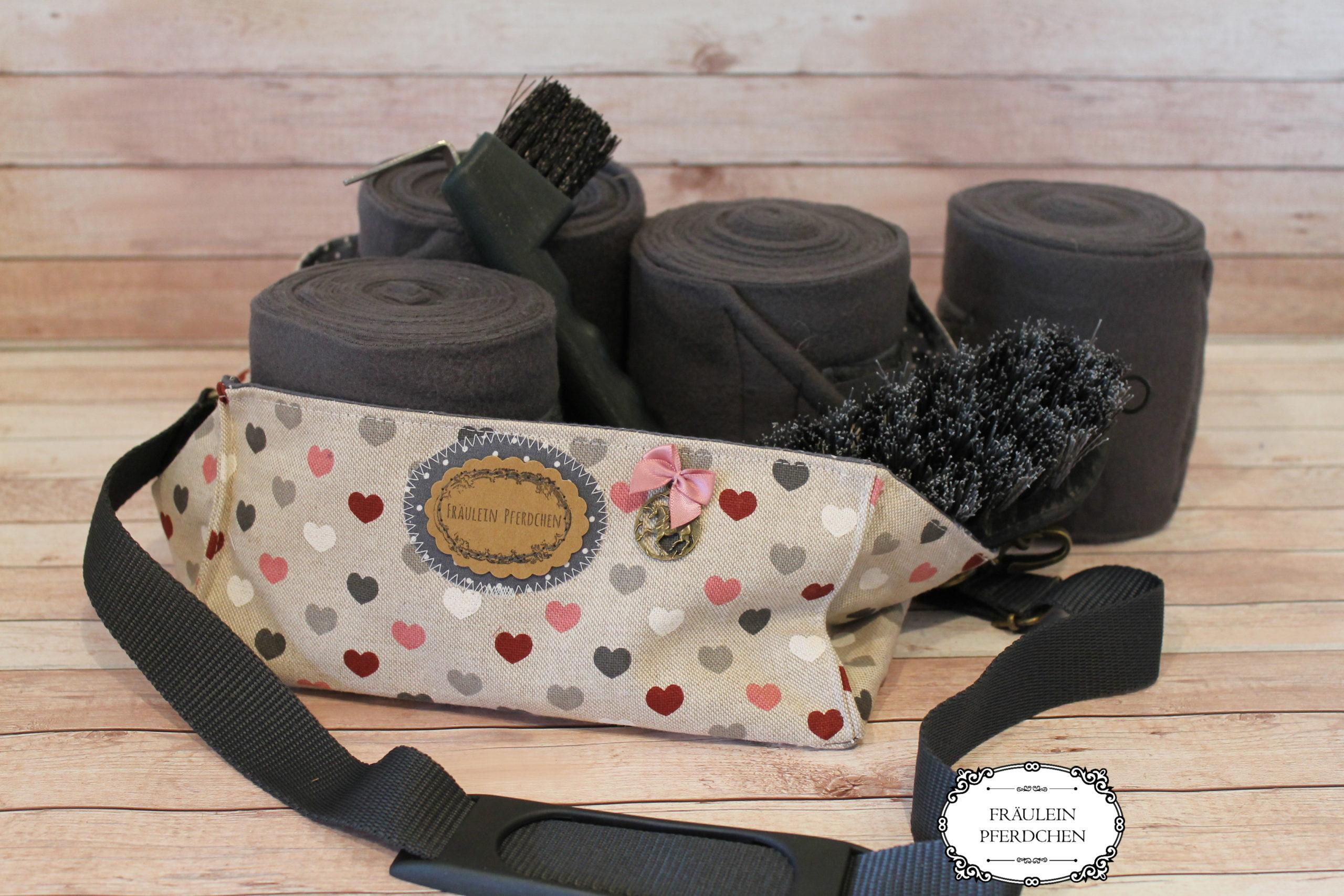 Bandagen-/Putztasche – 100% mit Liebe handgemacht