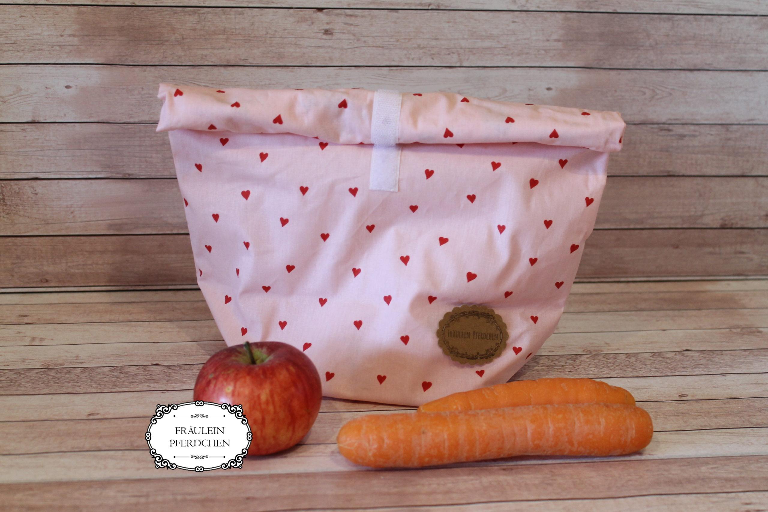 Lunchbag groß – 100% mit Liebe handgemacht