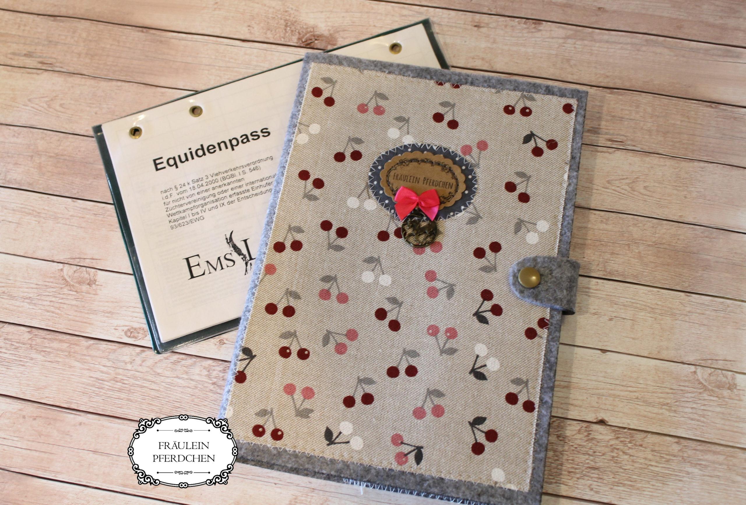 Hülle für Equidenpass – 100% mit Liebe handgemacht