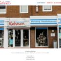 Homepage Fachmarkt Kohnen