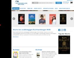 Homepage Giraffenbuchhandlung