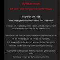 Homepage Partyservice Nüsse