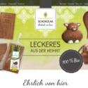 Homepage Schokolaa