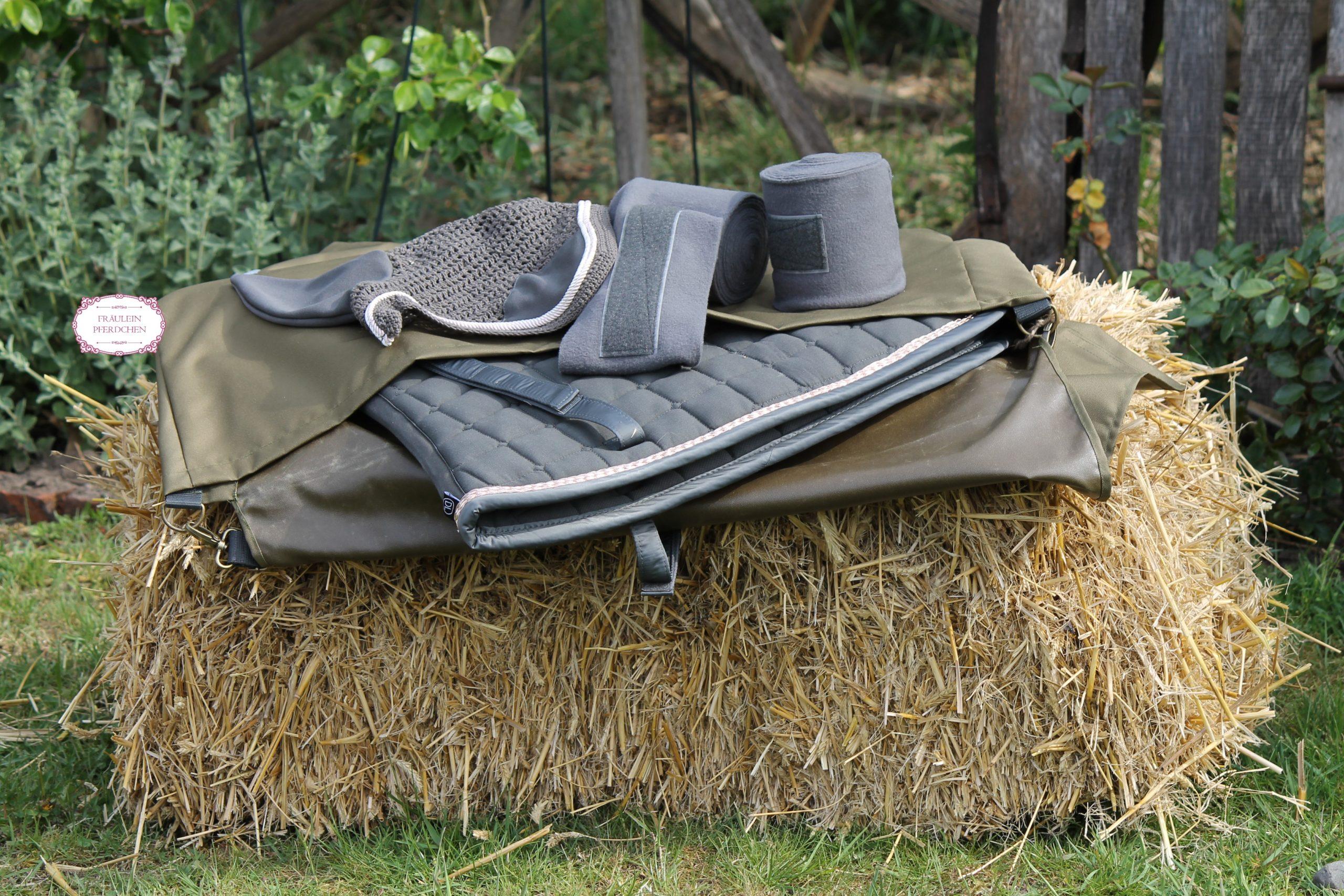 Decken-/Schabrackentransporttasche – 100% mit Liebe handgemacht