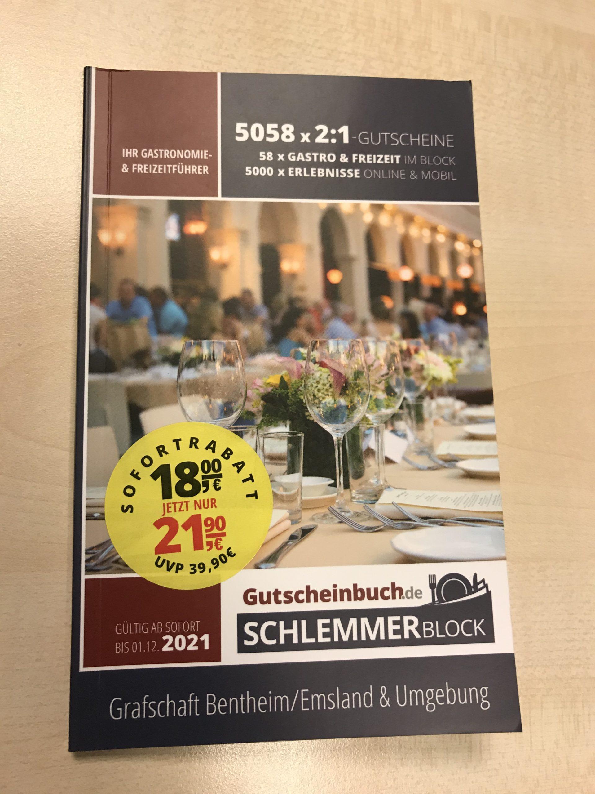 Schlemmerbuch südl. Emsland/ Grafschaft Bentheim