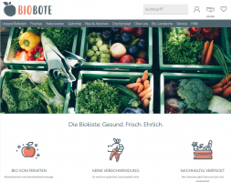 Homepage Biobote Emsland